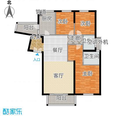 老西门新苑140.00㎡房型户型