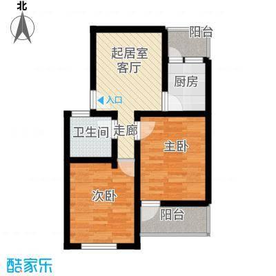 小沪春秋68.00㎡房型户型