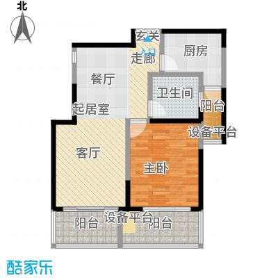 静安凤凰苑73.08㎡房型户型