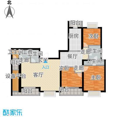静安艺阁154.00㎡房型户型