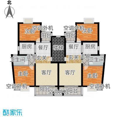 大华颐和华城一期91.25㎡房型户型