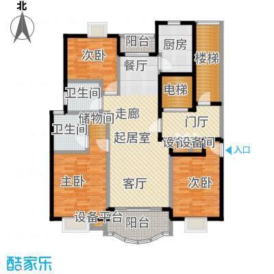 明丰阳光苑125.00㎡房型户型