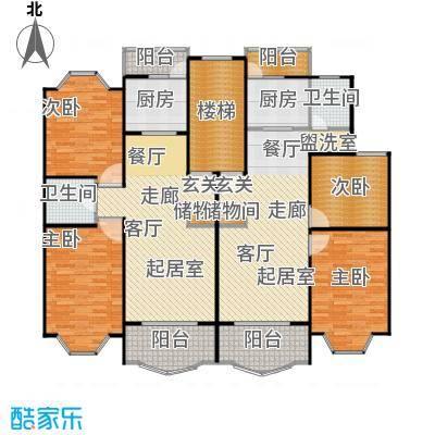松江世纪新城89.00㎡房型户型