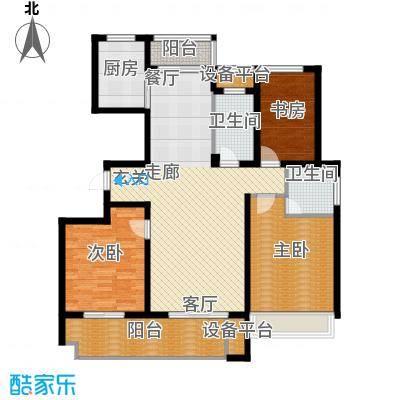 锦绣江南126.00㎡3#、6#、9#小高层G户型