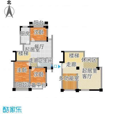 碧海星辰166.33㎡电梯公寓标准层面积16633m户型