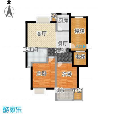 新隆蓝天公寓94.30㎡1面积9430m户型