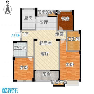 绿城乌镇雅园140.00㎡140平米3室2厅2卫1厨户型3室2厅2卫