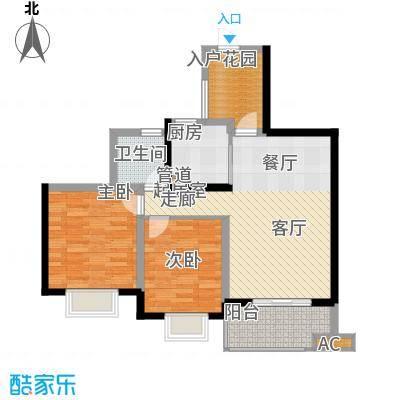 滨江果园避寒度假山庄87.73㎡福江苑-09户型