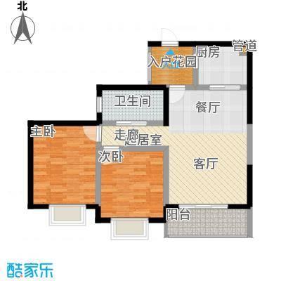 滨江果园避寒度假山庄88.74㎡福江苑-17户型