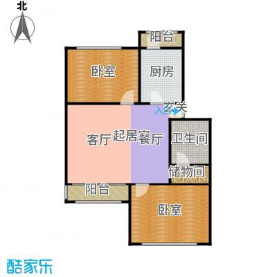 新汾阳公寓96.00㎡双南户型