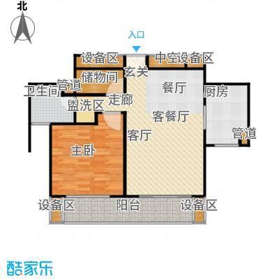 海尚逸苑生活街全户型