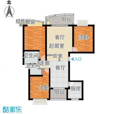 中房三林城金谊河畔二期-面积约13489户型