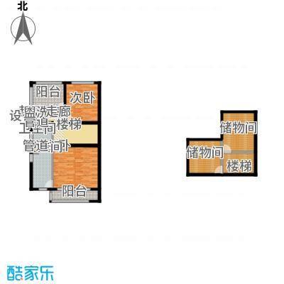 锦上城K2三层、阁楼户型