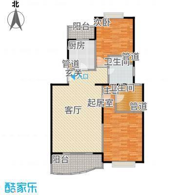 秋月枫舍二期75.60㎡房型: 二房; 面积段: 75.6 -104 平方米;户型