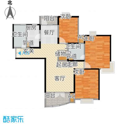 秋月枫舍二期75.60㎡房型: 二房; 面积段: 75.6 -104 平方米; 户型