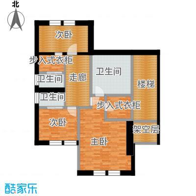 明园森林都市135.03㎡26#二层户型10室