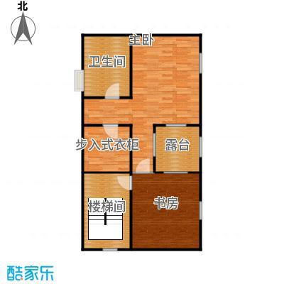 明园森林都市81.35㎡12#三层平面图户型10室