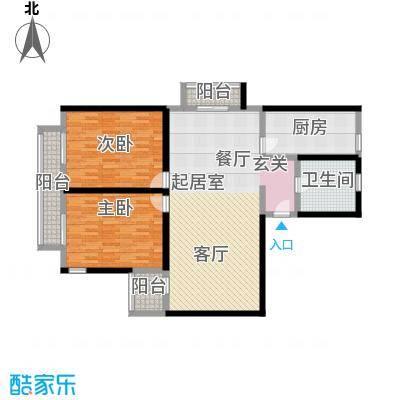 三宝花苑120.08㎡房型: 二房; 面积段: 120.08 -135.08 平方米; 户型