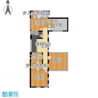 明园森林都市180.82㎡二层平面图户型10室