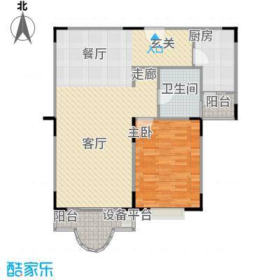 盛和玲珑82.09㎡房型: 一房; 面积段: 82.09 -82.09 平方米;户型