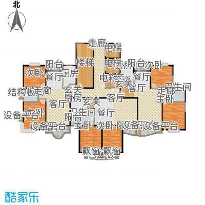 盛和玲珑户型6室3厅3卫3厨
