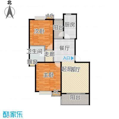 大华阳城花园(七期)90.00㎡房型: 二房; 面积段: 90 -100 平方米;户型