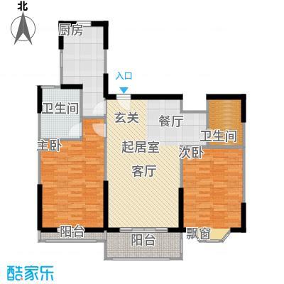 金芙世纪公寓106.03㎡_4户型
