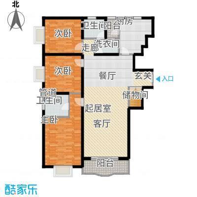 光复新苑142.74㎡房型户型