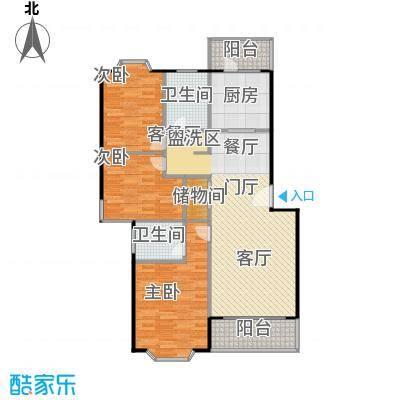 美之苑106.00㎡房型户型