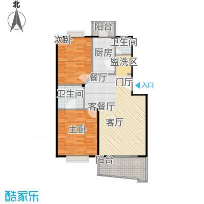 张杨南苑88.97㎡房型户型