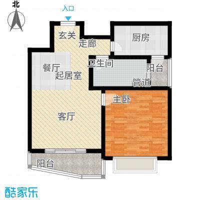 明珠家园78.00㎡房型: 一房; 面积段: 78 -78 平方米; 户型