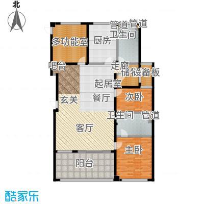 中福城三期185.00㎡房型: 三房; 面积段: 185 -185 平方米; 户型