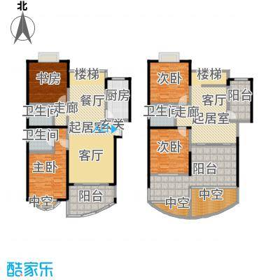 金日世家玉兰苑220.00㎡房型: 复式; 面积段: 220 -270 平方米; 户型