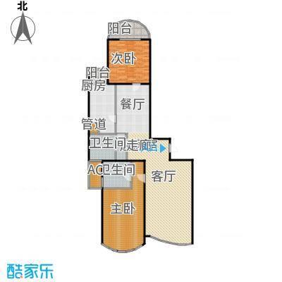 绿洲仕格维花园一期139.00㎡房型: 二房; 面积段: 139 -140.03 平方米; 户型