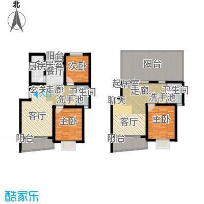 绿邑新境149.00㎡房型: 复式; 面积段: 149 -150 平方米; 户型