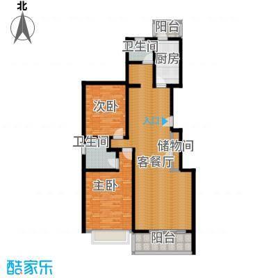 金桂苑121.68㎡房型户型10室