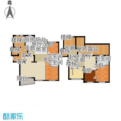 古北中央花园313.00㎡房型: 复式; 面积段: 313 -313 平方米; 户型