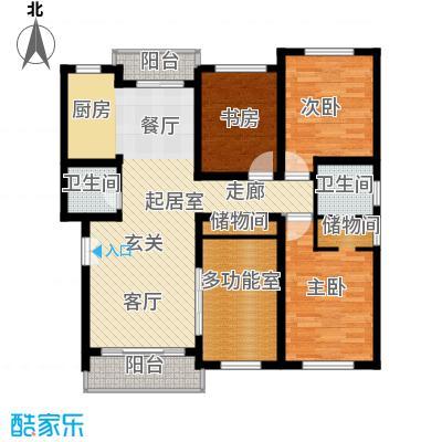 联鑫虹桥苑一期户型3室1卫