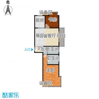 均泰丽轩157.9平方米2室2厅2卫户型2室1厅2卫