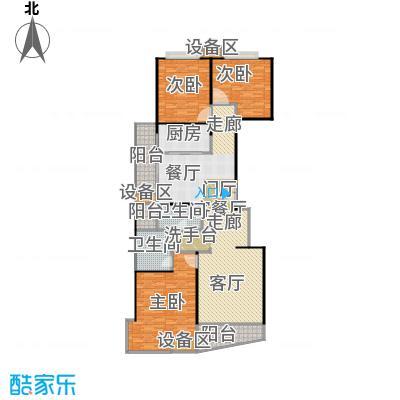 均泰丽轩3室2厅1卫 152.00平米户型