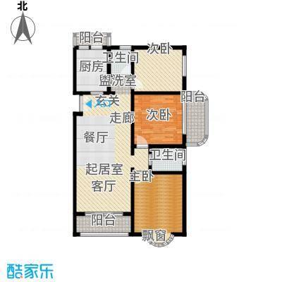 静安桂花园113.00㎡房型: 三房; 面积段: 113 -141.63 平方米; 户型