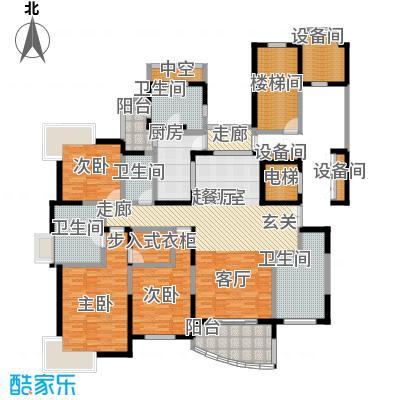 国际丽都城一期二期188.00㎡房型: 四房; 面积段: 188 -188 平方米; 户型