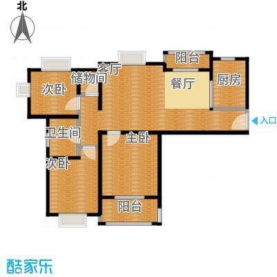 江南名庐86.81㎡户型10室