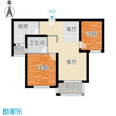 江南名庐69.44㎡户型10室