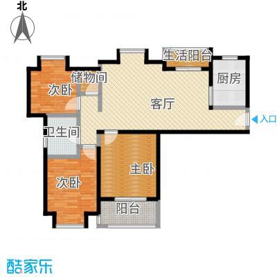 江南名庐91.69㎡户型10室