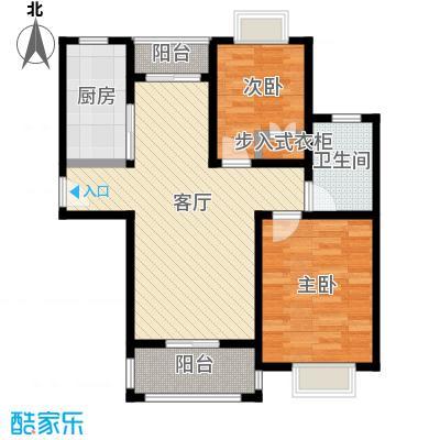 江南名庐68.56㎡户型10室