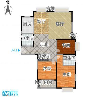 万里双子座148.00㎡房型: 三房; 面积段: 148 -150 平方米; 户型