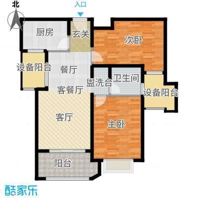 西康路989D户型2室1厅1卫1厨