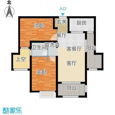 西康路989B户型2室1厅1卫1厨