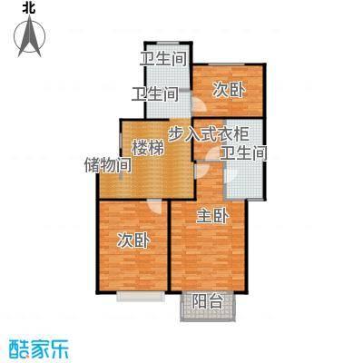 河滨香景园198.00㎡房型: 复式; 面积段: 198 -214 平方米; 户型
